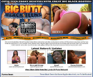 Big Butt Black Teens - Cutie Teen Ebony Beauties With Great big Black Booties!